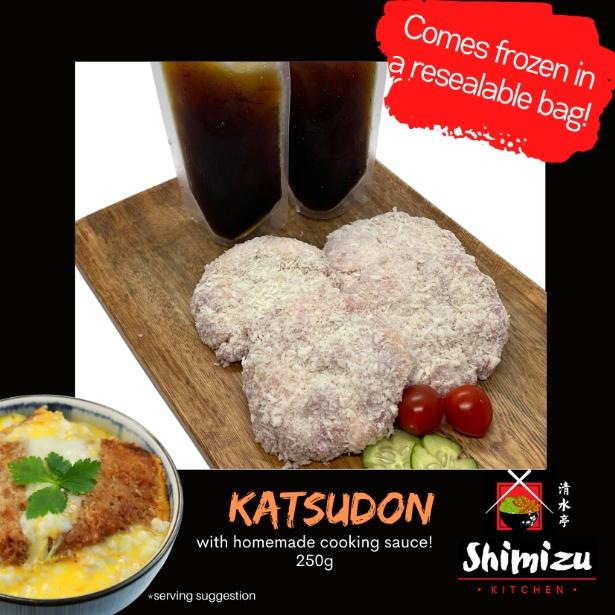 Cloudkart Shimizu Kitchen Katsudon W Homemade Sauce 4pcs