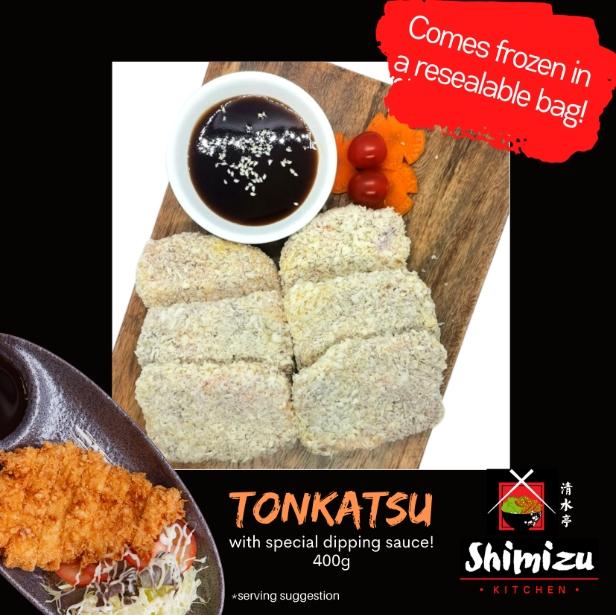 Cloudkart Shimizu Kitchen Tonkatsu W Tonkatsu Sauce 6pcs